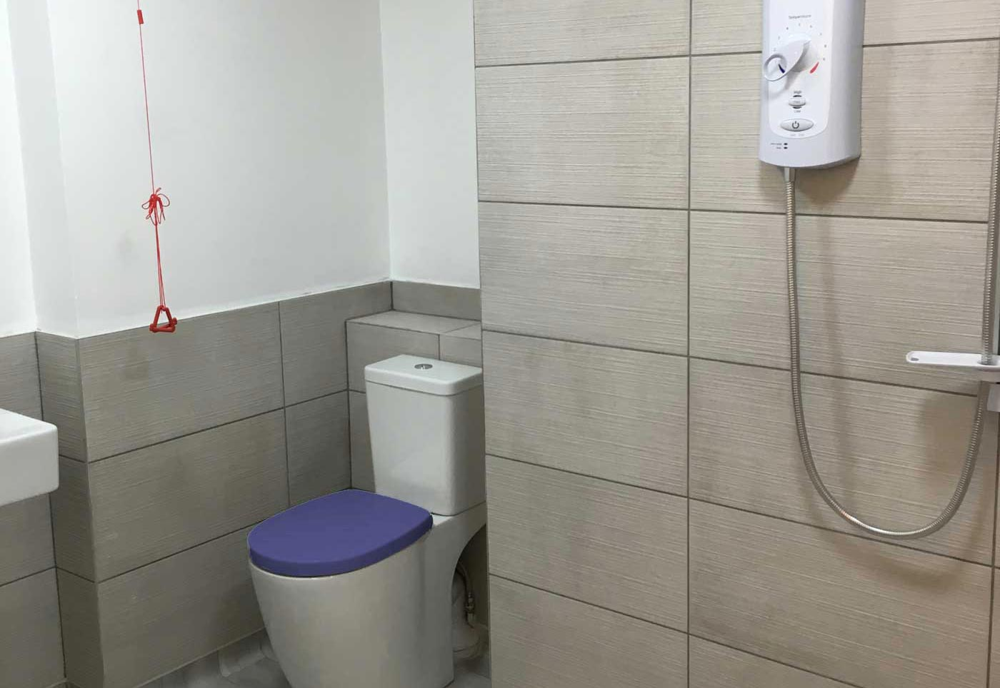 Senior Home Solutions creating a wet room
